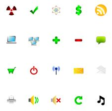 Free Icons Stock Photos - 14874483