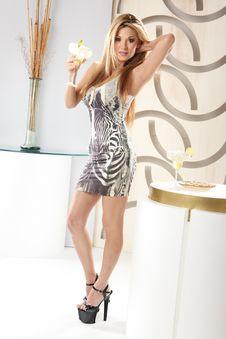Free Margarita Girl Stock Photo - 14874520