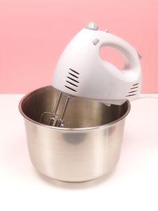 Electric Hand Mixer Royalty Free Stock Photos