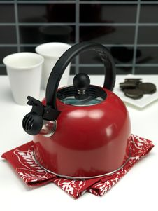 Free Stove Top Kettle Stock Photos - 14874713