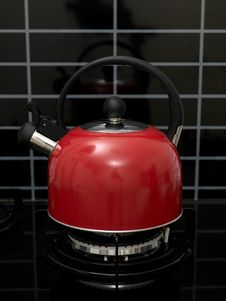 Stove Top Kettle Stock Image