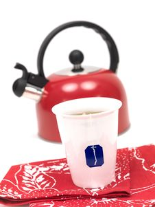 Free Stove Top Kettle And Tea Stock Photo - 14874770
