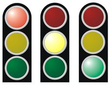 Free Light At The Intersection Stock Image - 14875071
