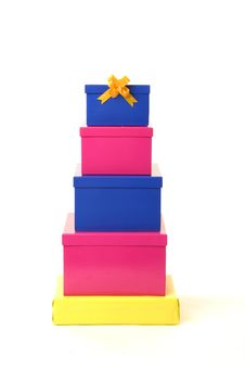 Free Gift Boxes Royalty Free Stock Photo - 14875545