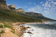 Twelve Apostles Cape Town Stock Photo