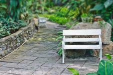 Free Seat In The Park Stock Image - 14875701