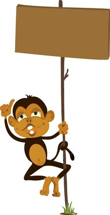 Free A Monkey Royalty Free Stock Photos - 14875828