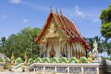 Free Buddhistic Temple In Thailand Royalty Free Stock Photos - 14875838
