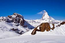 Free Matterhorn Peak Royalty Free Stock Photos - 14876148
