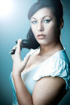 Free Fashion Woman Stock Image - 14876161