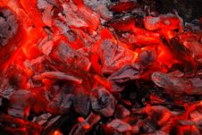 Free Background From The Burning Charcoal Royalty Free Stock Photo - 14876575