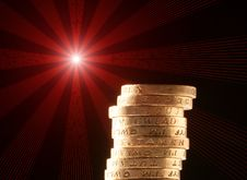 Free Stack Of Coins Royalty Free Stock Images - 14876639