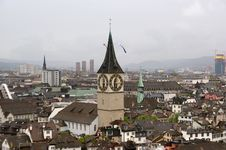 Free Switzerland, Zurich, View Of The City Stock Photography - 14876952