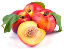 Free Smooth Peaches And A Half Stock Photos - 14876953