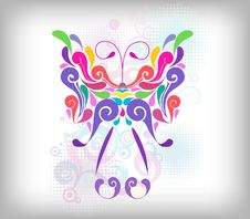 Free Butterfly Design Element Stock Photos - 14877743