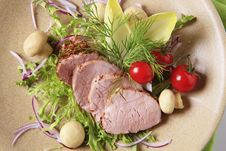 Pork Tenderloin Royalty Free Stock Photography