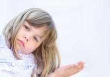 Free Cute Little Girl Stock Photos - 14878673