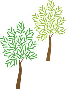 Free Tree Icon Royalty Free Stock Image - 14879346