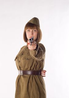 Free Shooting Soldier Stock Photo - 14879410
