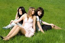 Free Three Girls Stock Image - 14879661