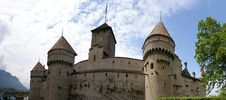 Free Switzerland - Chateau De Chillon On The Lake Leman Royalty Free Stock Photography - 14879717
