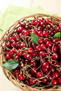 Free Fresh Red Cherries Stock Photos - 14881473