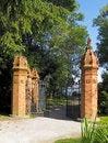 Free Red Brick Gateway Stock Photo - 14888260