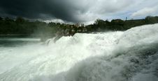 Free Waterfall Rhine Falls (Rheinfall) At Schaffhausen Stock Photos - 14880663