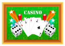 Free Gambling Illustration Royalty Free Stock Photos - 14880718