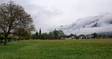 Free Switzerland, Interlaken,  View Of The City And The Stock Photo - 14880770