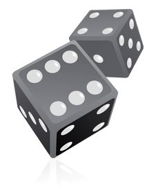 Free Dice Illustration Stock Images - 14880774