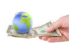 Free Earth Money Concept. Stock Photo - 14880850
