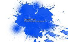 Free Blue Splash Background Stock Photography - 14880902