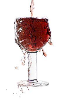 Free Splash In A Glass Stock Photo - 14881040