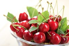 Free Red Cherries Stock Photos - 14881463