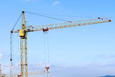 Free The Building Crane Stock Image - 14881871