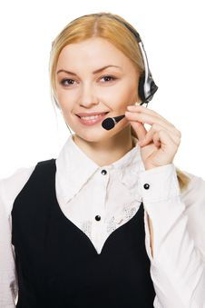 Free Call Center Professional Stock Photos - 14881973
