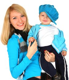 Free Mother With Baby Boy Stock Images - 14882124