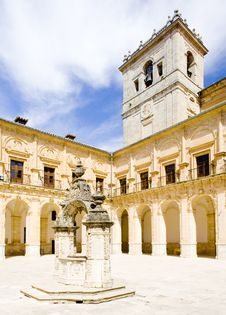 Free Monastery Of Ucles Stock Photography - 14882252