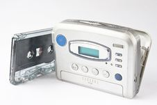 Free Stereo Player With Cassette Royalty Free Stock Image - 14882286