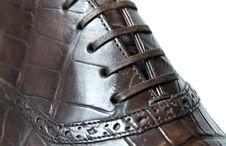 Free Close Up Photo Of Mans Shoe Stock Photo - 14883270