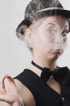 Free Smoker Stock Photography - 14883722