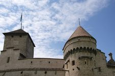Switzerland - Chateau De Chillon Stock Photography