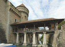 Switzerland - Chateau De Chillon Stock Images