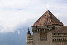 Switzerland - Chateau De Chillon Royalty Free Stock Photo