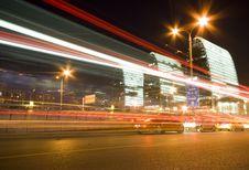 Free Traffic On Sunset Stock Images - 14884154