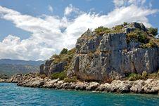 Free Rocks In The Mediterranean Stock Photo - 14884210