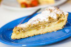 Free Dessert Sweet Apple Pie,on White Background Royalty Free Stock Photo - 14884945