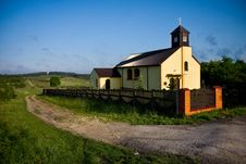 Small Countryside Church Stock Images