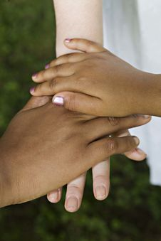 Free Friend S Hands Stock Photography - 14885842